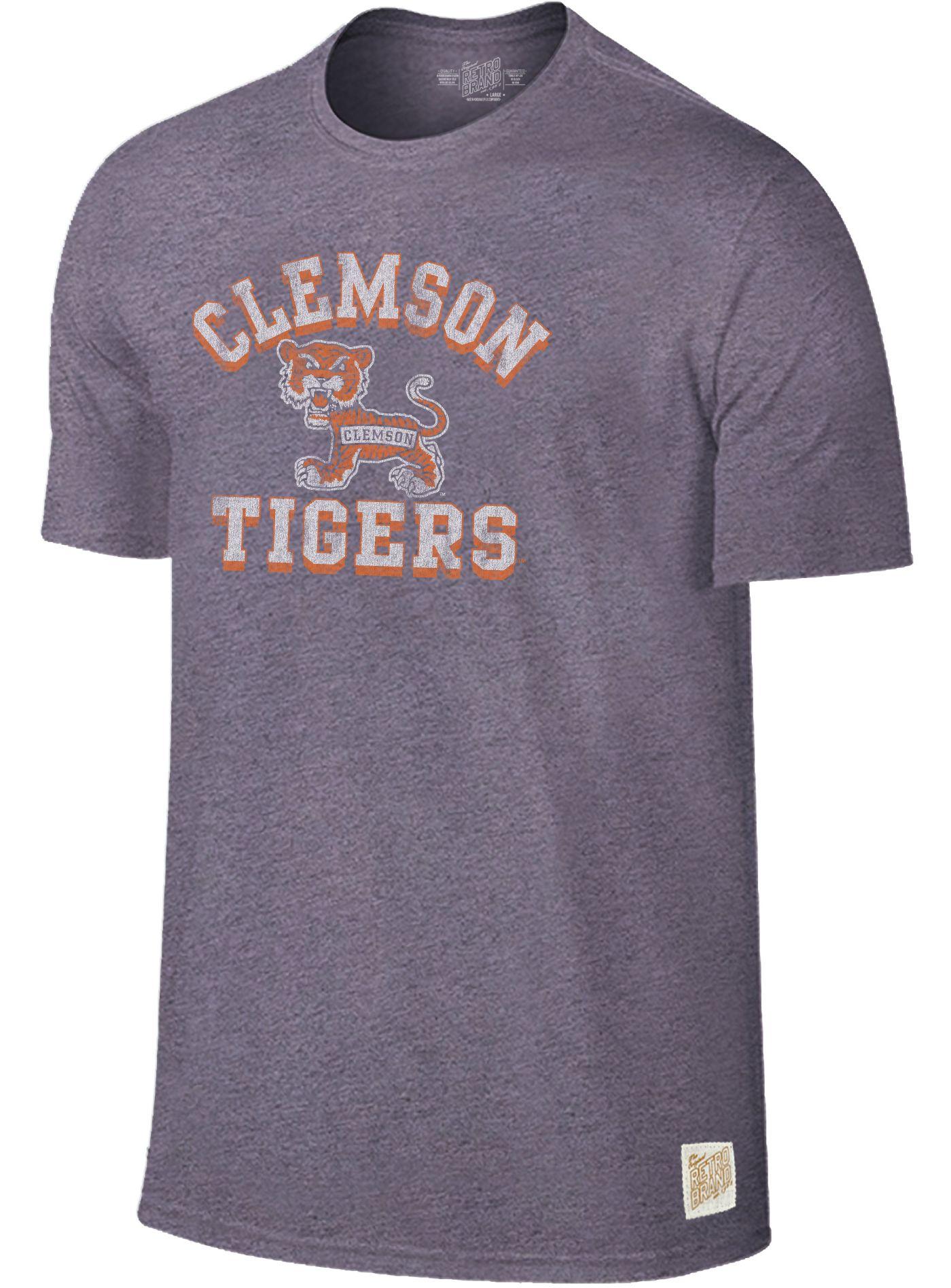 Original Retro Brand Men's Clemson Tigers Regalia Mock Twist T-Shirt