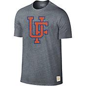 Original Retro Brand Men's Florida Gators Grey Retro Tri-Blend T-Shirt