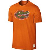 Original Retro Brand Men's Florida Gators Orange Dual Blend T-Shirt