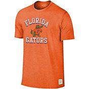 Original Retro Brand Men's Florida Gators Orange Mock Twist T-Shirt