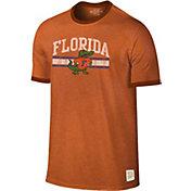 Original Retro Brand Men's Florida Gators Orange Ringer T-Shirt
