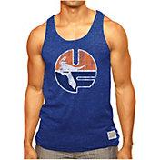 Original Retro Brand Men's Florida Gators Blue Retro Mock Twist Tank Top