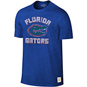 Original Retro Brand Men's Florida Gators Blue Tri-Blend T-Shirt