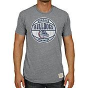 Original Retro Brand Men's Gonzaga Bulldogs Grey Tri-Blend Basketball T-Shirt