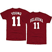 Original Retro Brand Men's Oklahoma Sooners Trae Young #11 Crimson Basketball Jersey T-Shirt