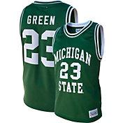 Original Retro Brand Men's Draymond Green Michigan State Spartans #23 Green Retro Basketball Jersey