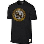 Original Retro Brand Men's Missouri Tigers Mock Twist Black T-Shirt