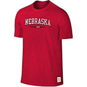 Original Retro Brand Men's Nebraska Cornhuskers Scarlet Slub T-Shirt