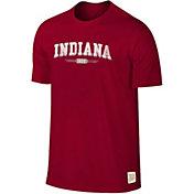 Original Retro Brand Men's Indiana Hoosiers Crimson Slub T-Shirt