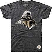 Original Retro Brand Men's Purdue Boilermakers Tri-Blend Black T-Shirt