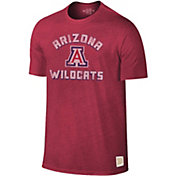 Original Retro Brand Men's Arizona Wildcats Cardinal Tri-Blend T-Shirt