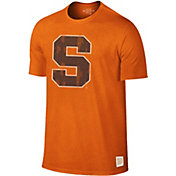 Original Retro Brand Men's Syracuse Orange Dual Blend Orange T-Shirt