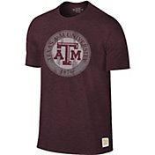 Original Retro Brand Men's Texas A&M Aggies Maroon Mock Twist T-Shirt