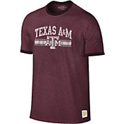 Original Retro Brand Men's Texas A&M Aggies Maroon Ringer T-Shirt