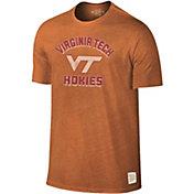 Original Retro Brand Men's Virginia Tech Hokies Burnt Orange Tri-Blend T-Shirt