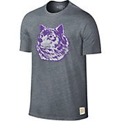 Original Retro Brand Men's Washington Huskies Grey Retro Tri-Blend T-Shirt
