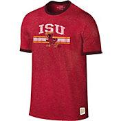Original Retro Brand Men's Iowa State Cyclones Cardinal Ringer T-Shirt