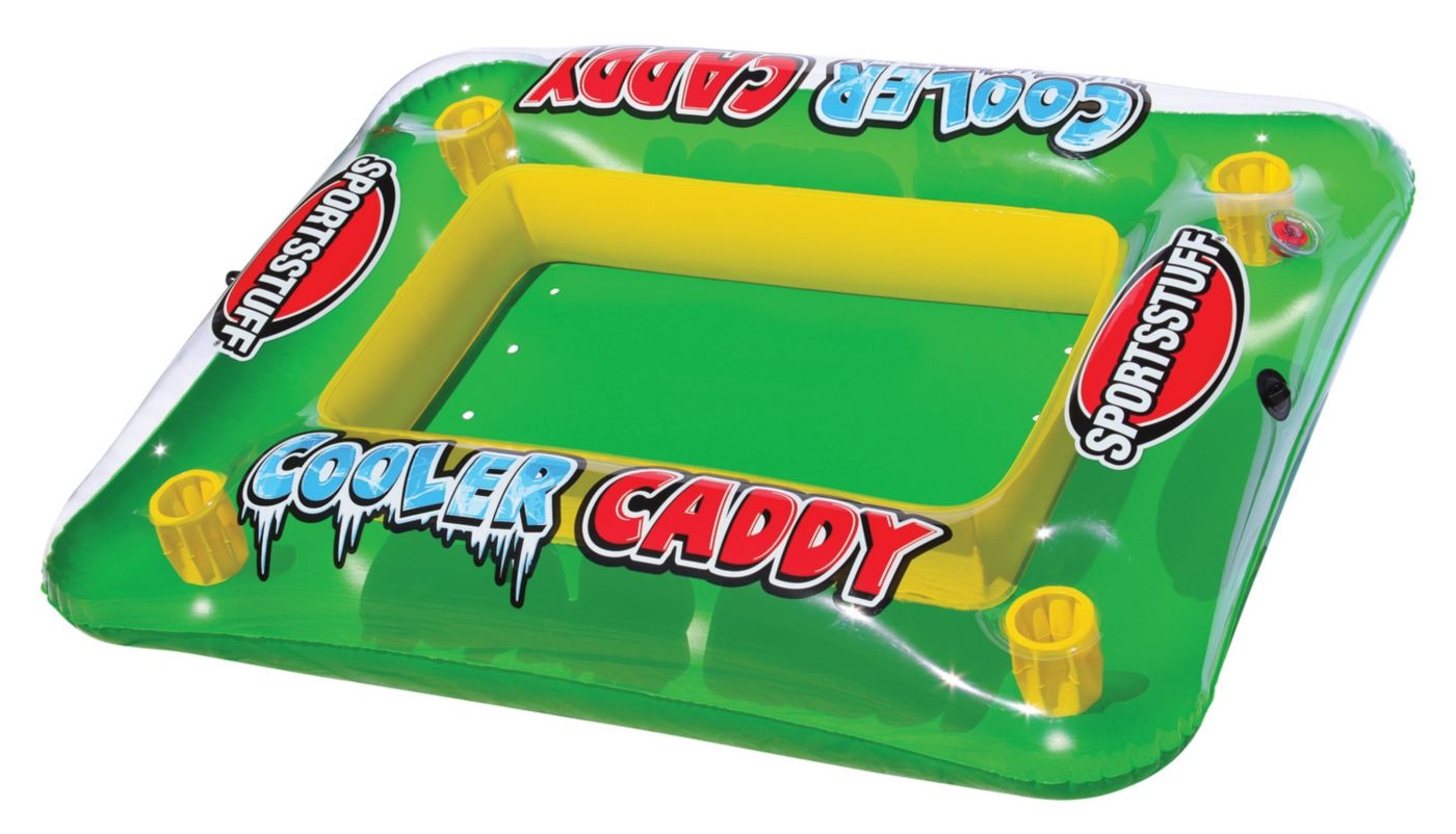 Sportsstuff Cooler Caddy Inflatable Cooler Float