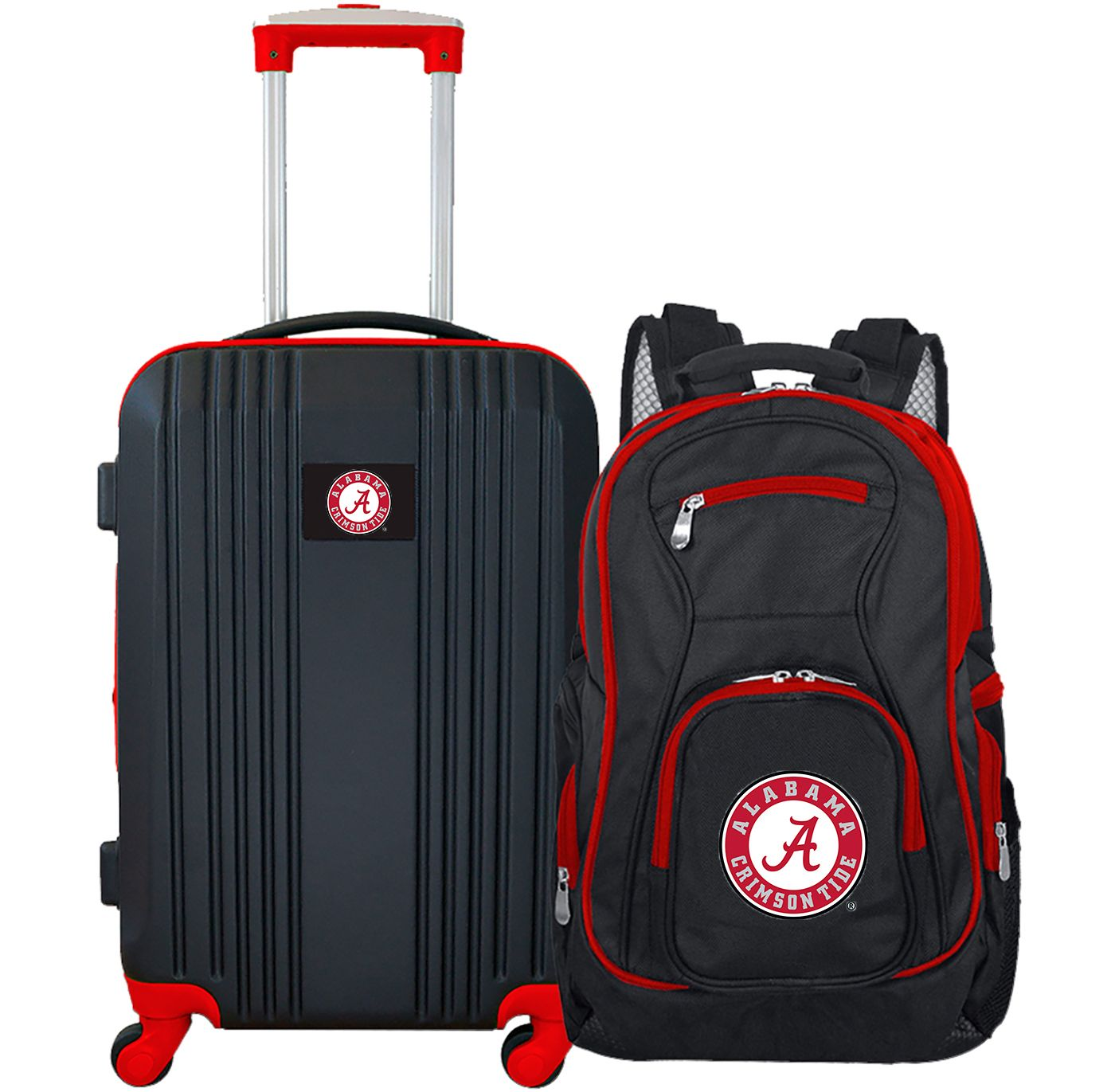 Mojo Alabama Crimson Tide Two Piece Luggage Set