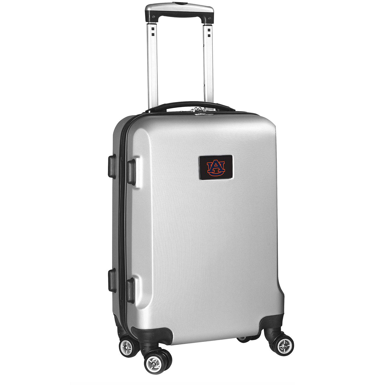 Mojo Auburn Tigers Silver Hard Case Carry-On