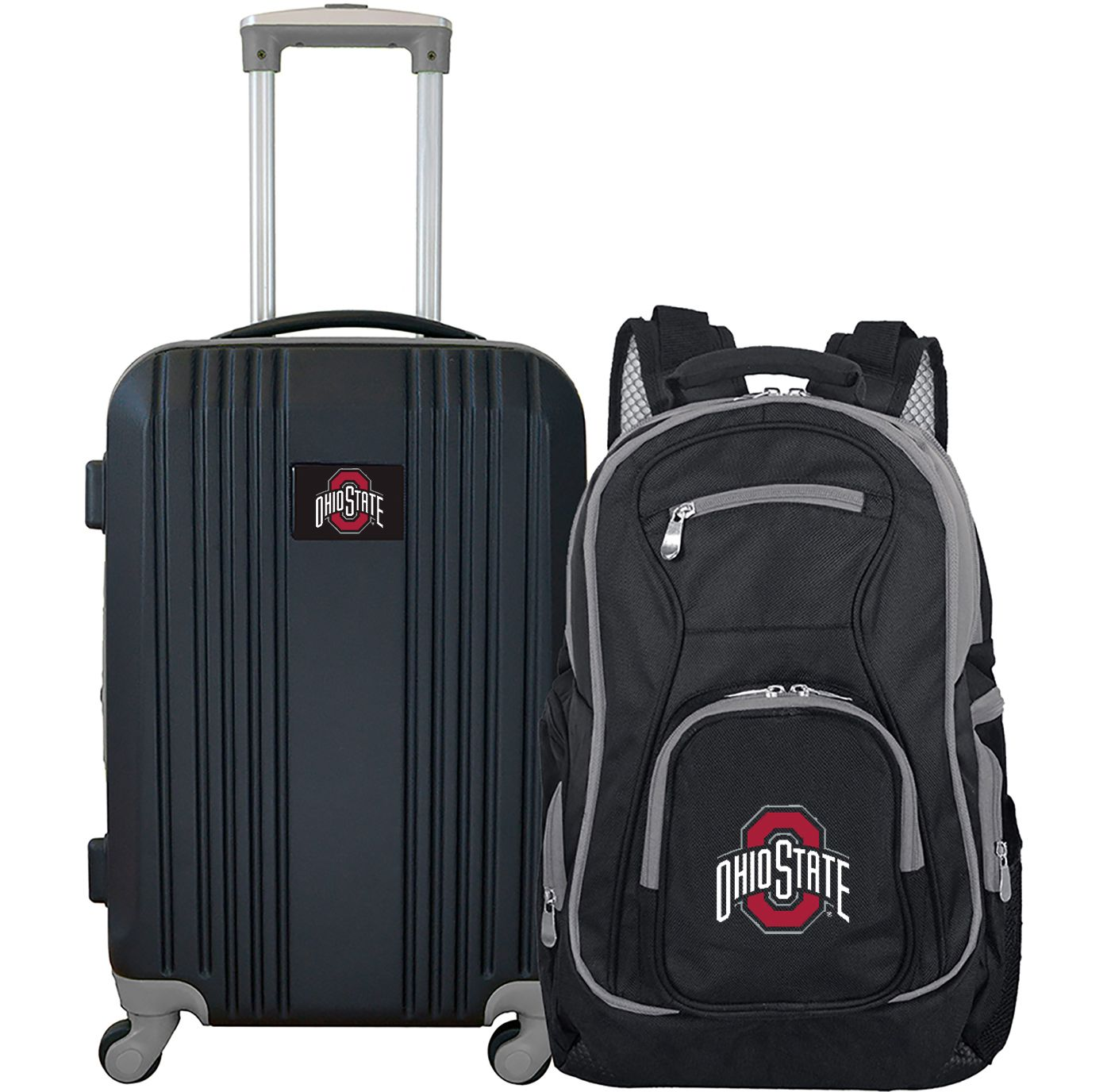 Mojo Ohio State Buckeyes Two Piece Luggage Set