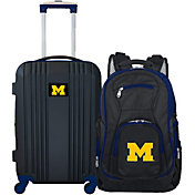 Mojo Michigan Wolverines Two Piece Luggage Set