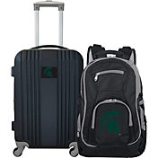 Mojo Michigan State Spartans Two Piece Luggage Set