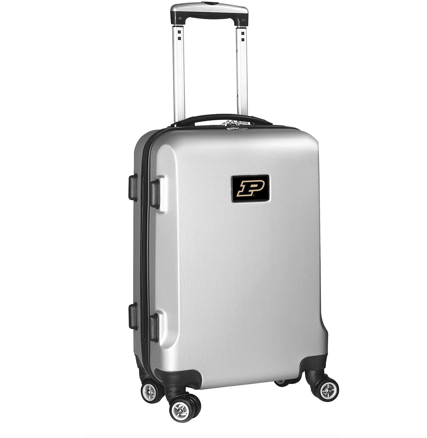Mojo Purdue Boilermakers Silver Hard Case Carry-On