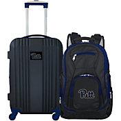 Mojo Pitt Panthers Two Piece Luggage Set