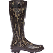 LaCrosse Men's NWTF Grange Mossy Oak Bottomland Rubber Hunting Boots