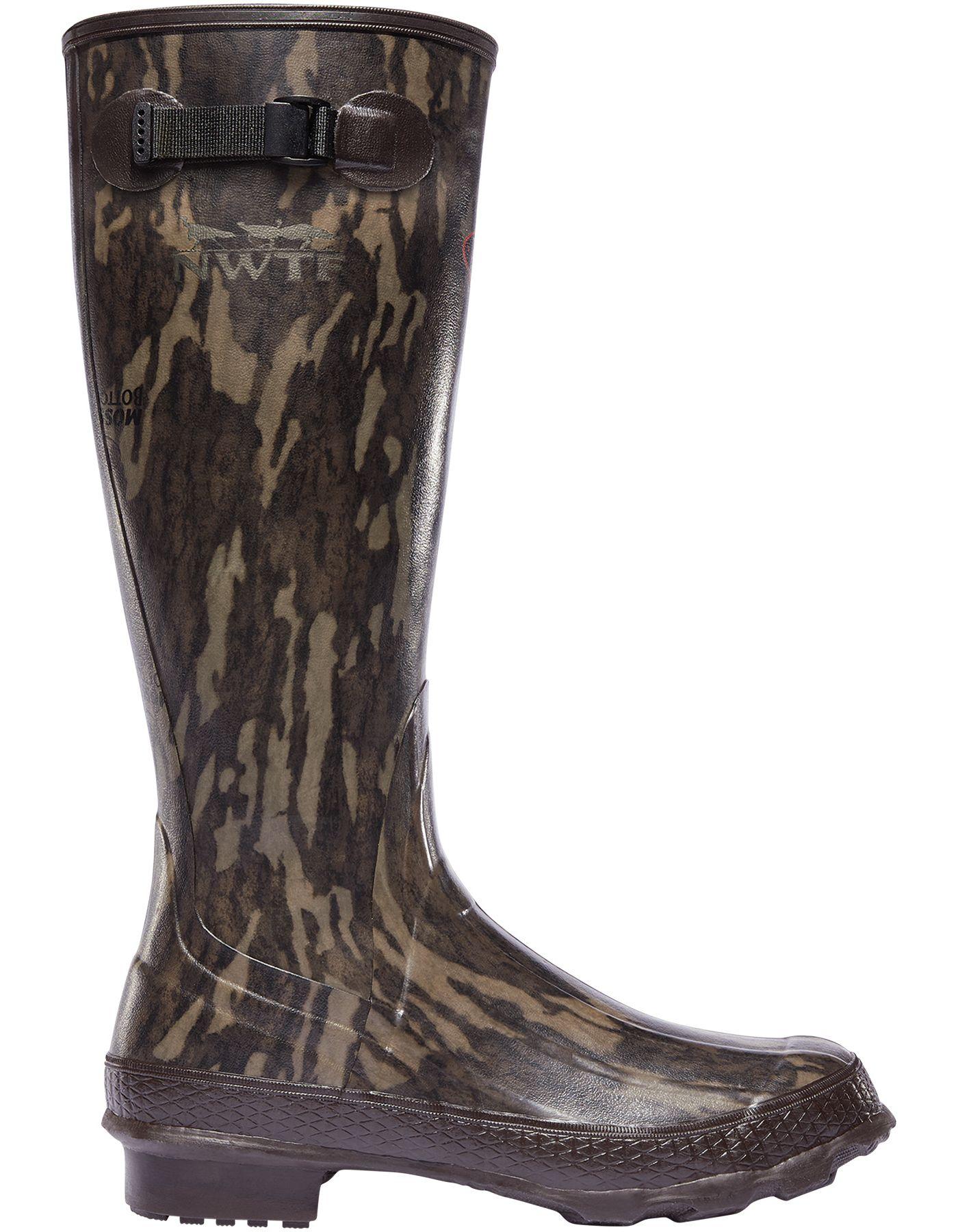 LaCrosse Men's NWTF Grange Mossy Oak Bottomland Rubber Hunting Boots