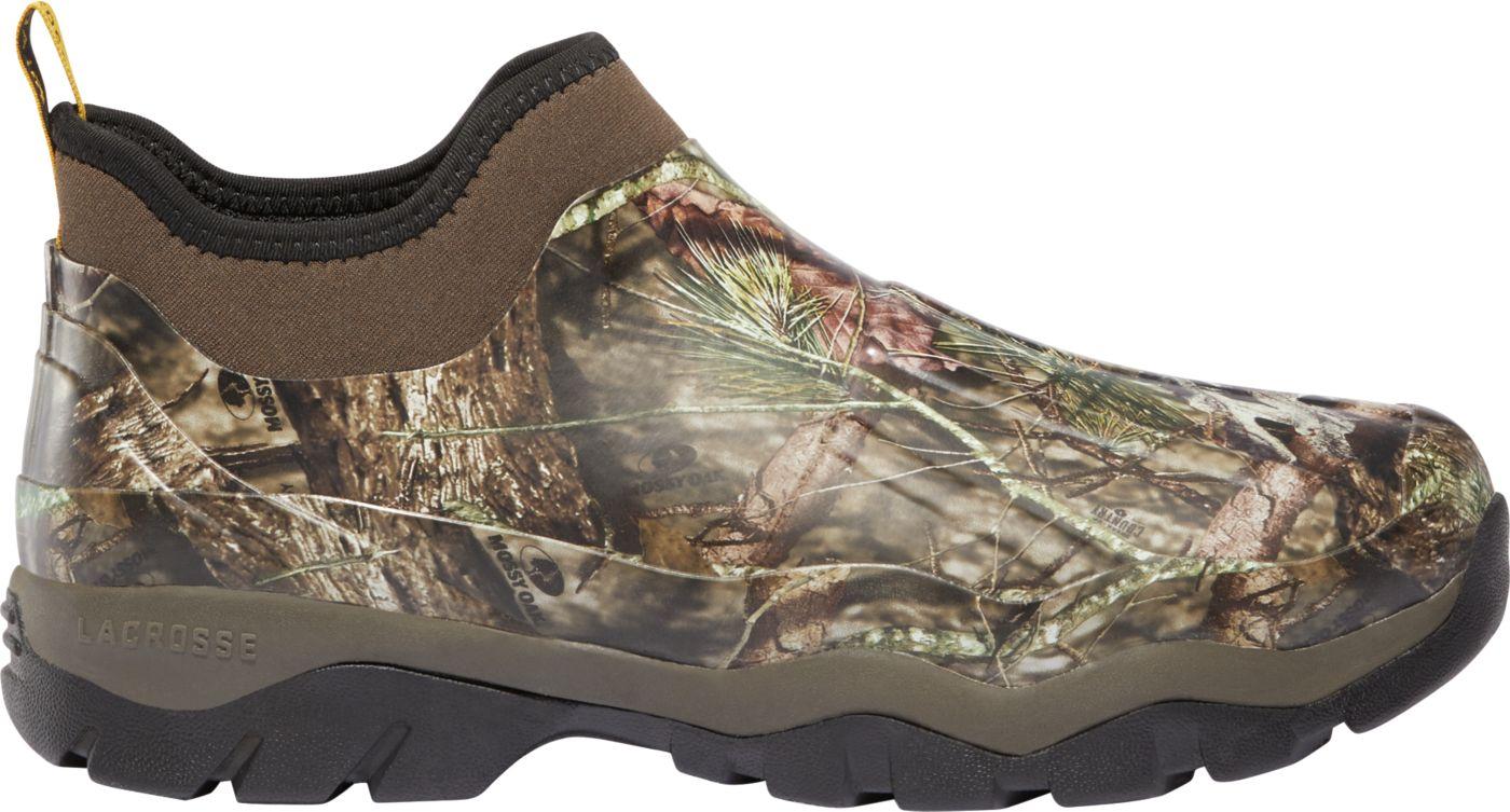LaCrosse Men's Alpha Muddy Mossy Oak 4.5'' Insulated Waterproof Work Shoes