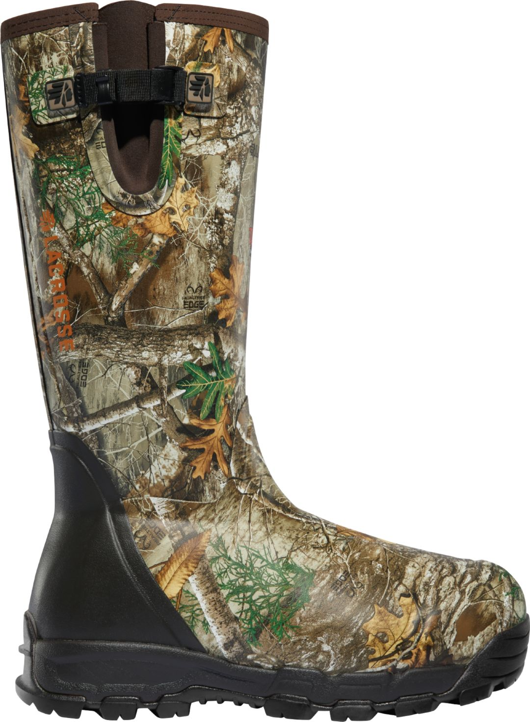 334a970419f LaCrosse Men's Alphaburly Pro Side-Zip 18'' Realtree Edge 1000g Rubber  Hunting Boots