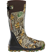 LaCrosse Men's Alphaburly Pro 18'' Realtree Edge Rubber Hunting Boots