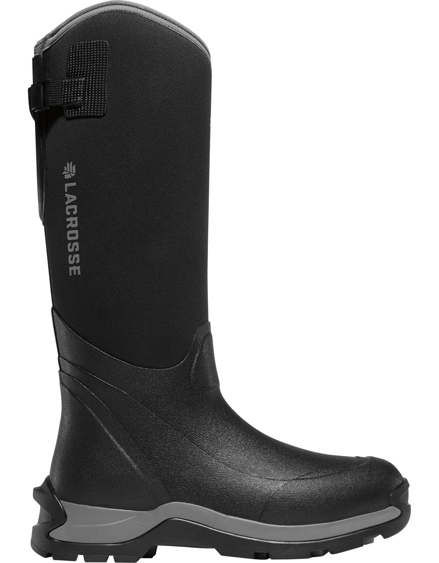 LaCrosse Men's Alpha Thermal 16'' Black 7.0mm Composite Toe Work Boots