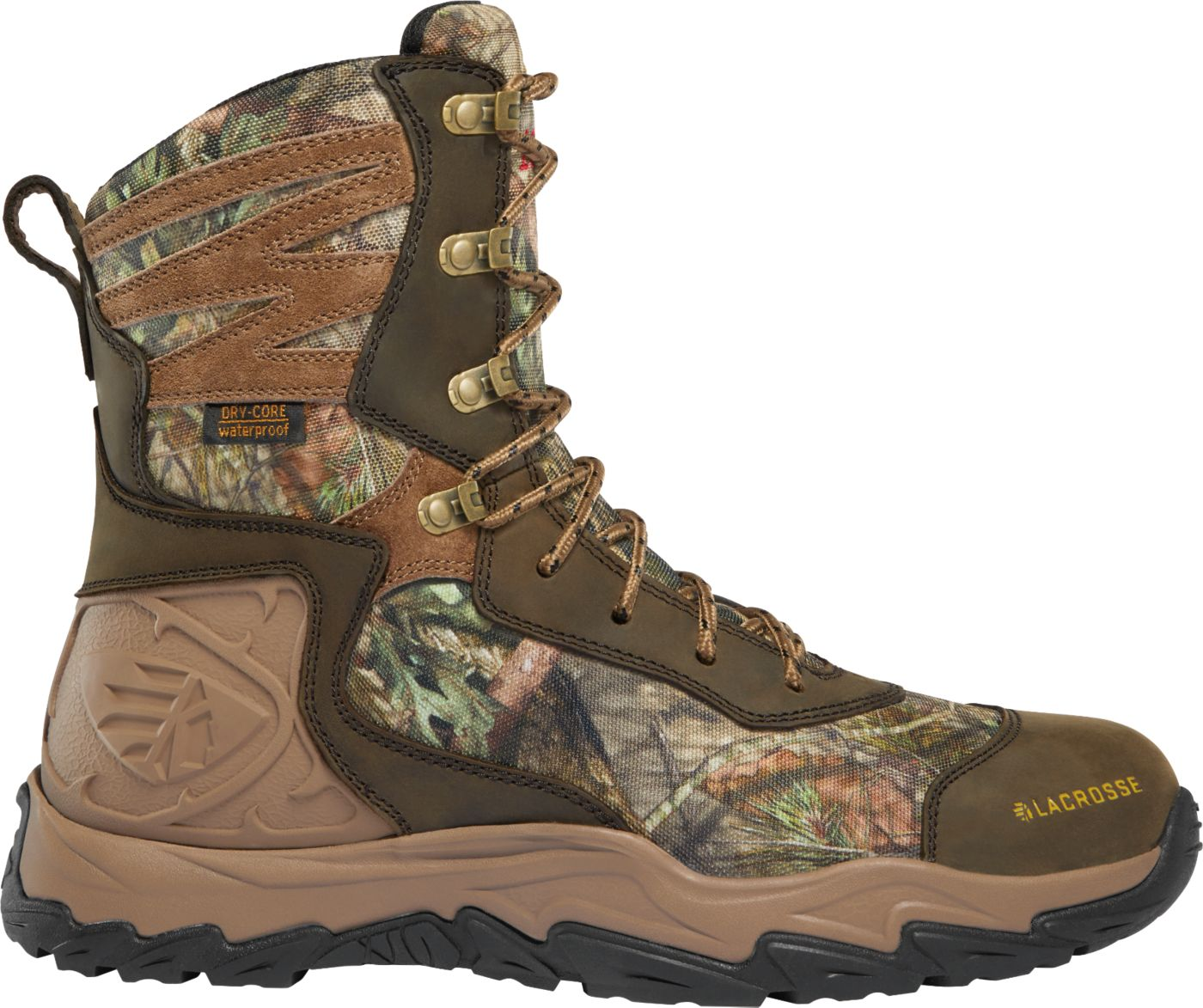 LaCrosse Men's Windrose 8'' Realtree Edge 1000g Waterproof Hunting Boots