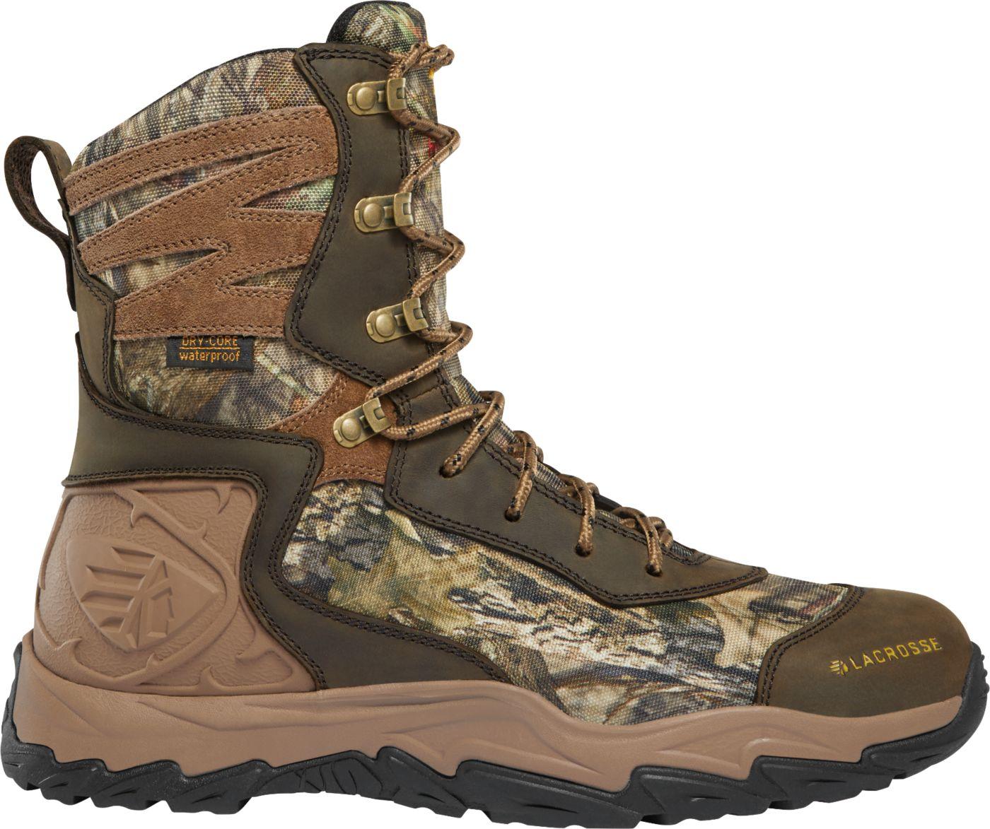 LaCrosse Men's Windrose 8'' Mossy Oak Break-Up Country 600g Waterproof Hunting Boots
