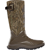 LaCrosse Men's Aerohead Sport Mossy Oak Bottomland 7mm Rubber Hunting Boots