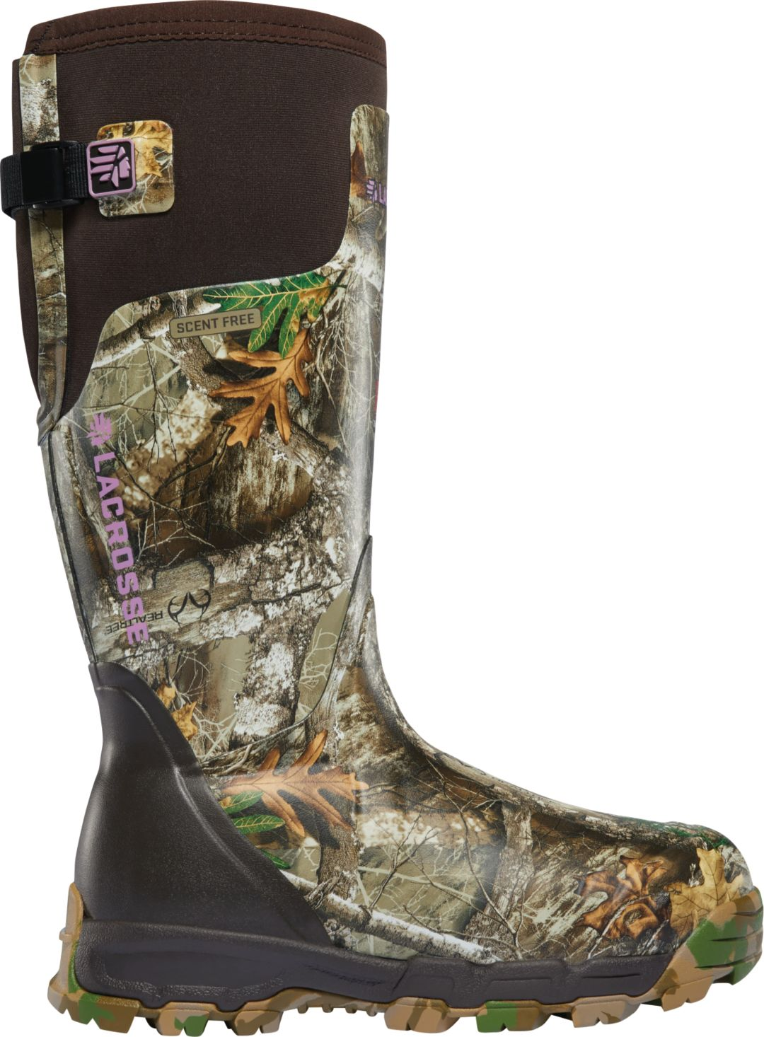 dfb8099cee7 LaCrosse Women's Alphaburly Pro 15'' Realtree Edge 800g Hunting Boots