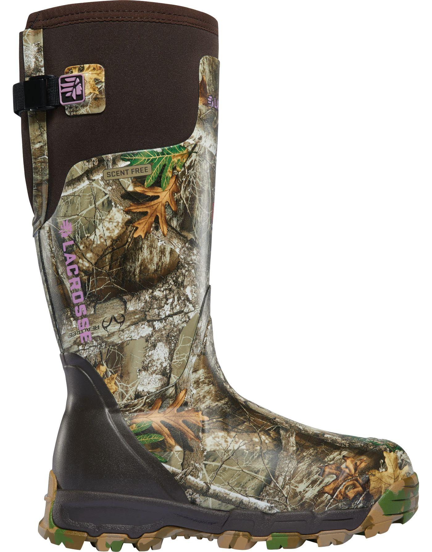 LaCrosse Women's Alphaburly Pro 15'' Realtree Edge 800g Hunting Boots