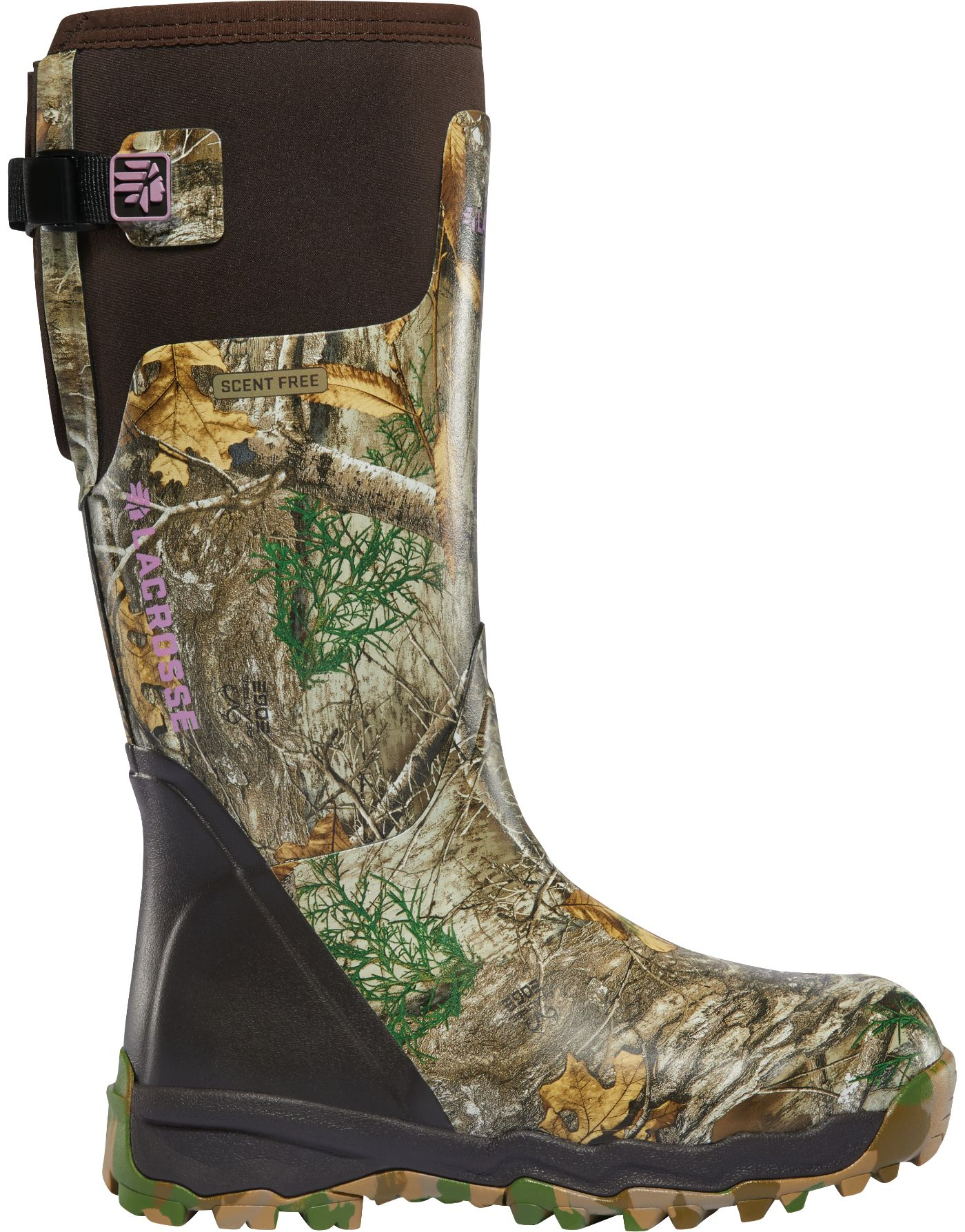 LaCrosse Women's Alphaburly Pro 15'' Realtree Edge Rubber Hunting Boots
