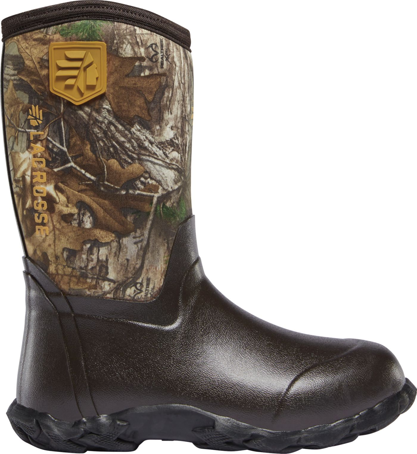 LaCrosse Kids' Lil' Alpha Lite Realtree Xtra 5.0mm Rubber Hunting Boots