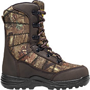 LaCrosse Kids' Silencer 8'' Mossy Oak Break-Up Infinity 800g Waterproof Hunting Boots