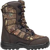 LaCrosse Kids' Silencer 8'' Mossy Oak Break-Up Infinity 800g Waterproof Hunting Boots