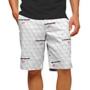 Loudmouth Men's Big Golf Ball Stretch Tech Golf Shorts
