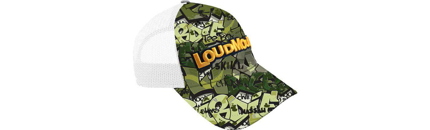 Loudmouth Golf Camo Trucker Golf Hat