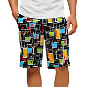 Loudmouth Men's Happy Hour Stretch Tech Golf Shorts