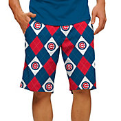 Loudmouth Men's Chicago Cubs Golf Shorts