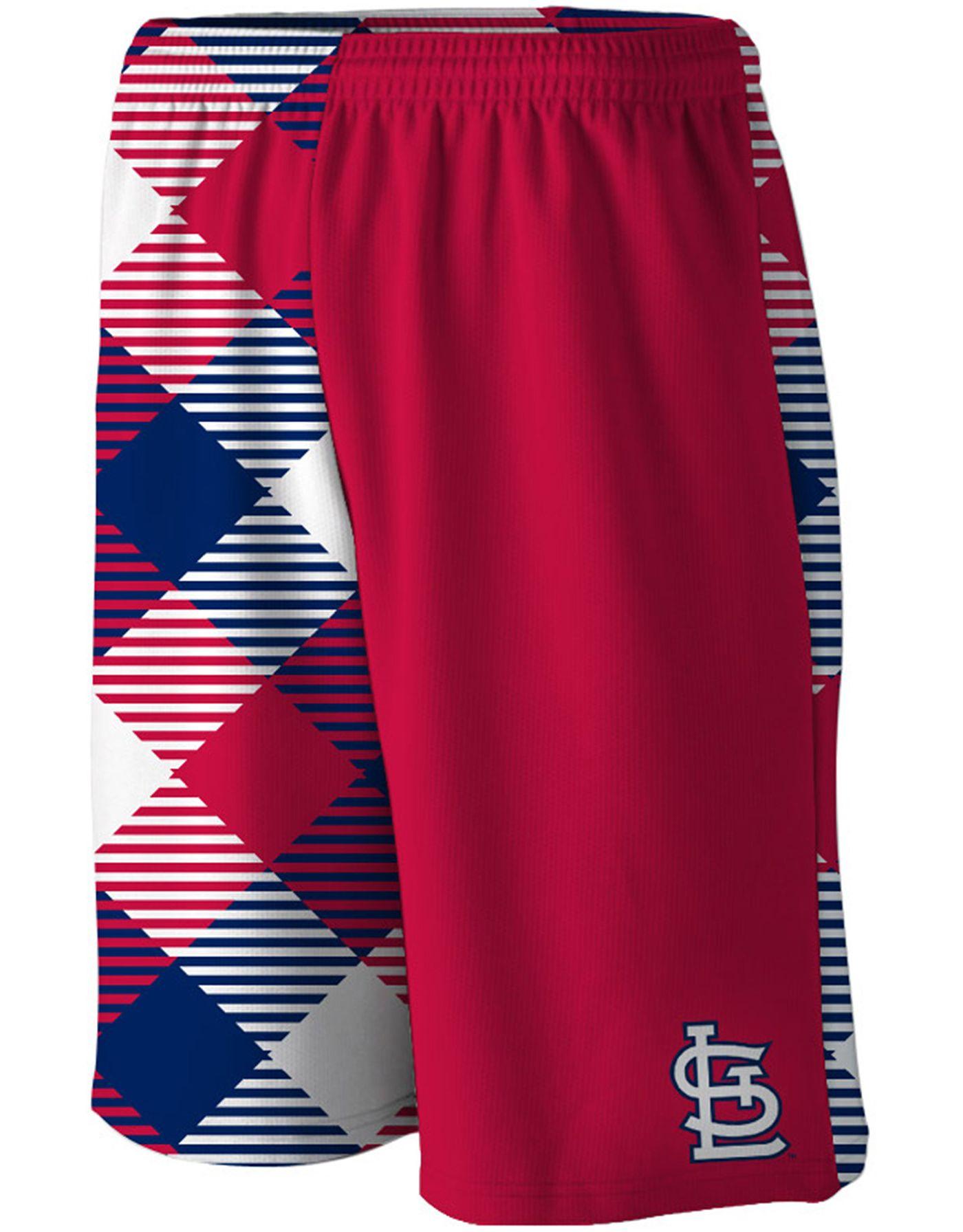 Loudmouth Men's St. Louis Cardinals Gym Shorts