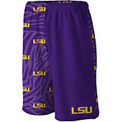 Loudmouth Men's LSU Tigers 'Geaux Tigers' Gym Shorts